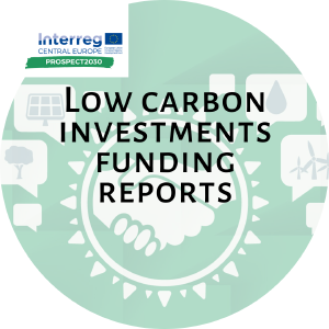 WPT1 Regional reports on low-carbon investments funding